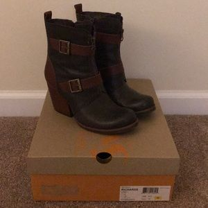 Korks by Kork Ease Leather Booties